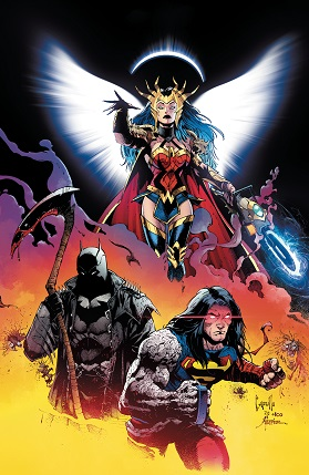 Dark nights death metal #1 cover