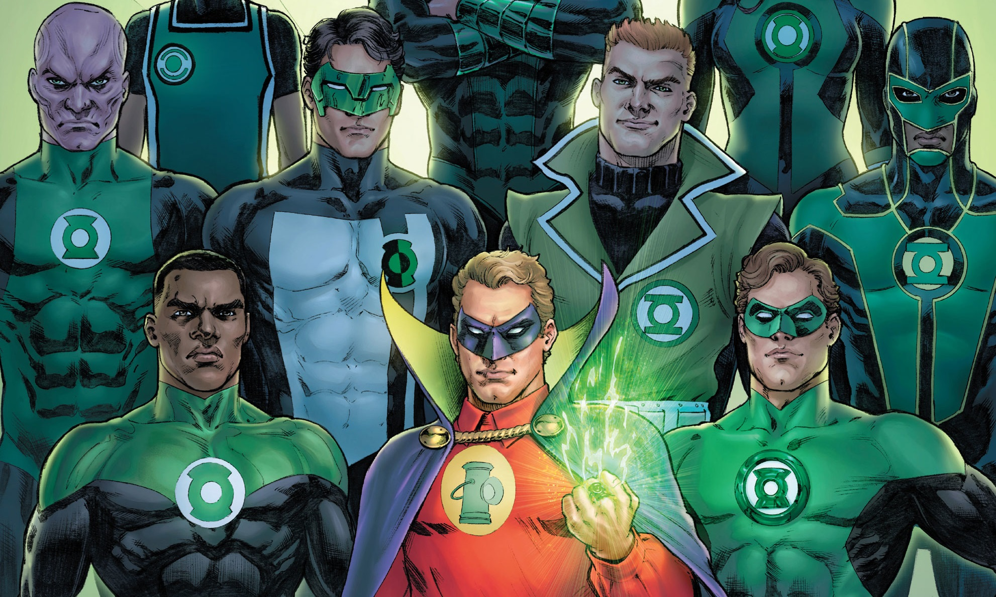 Green Lantern 80th anniversary!
