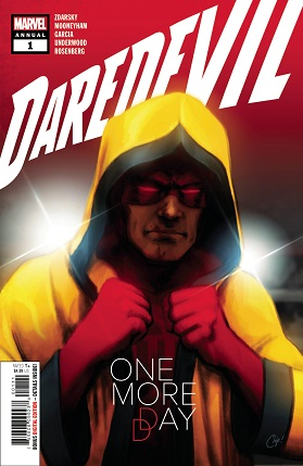 Daredevil Annual #1 cover