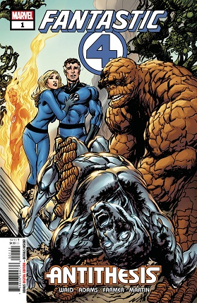 Fantastic Four Antithesis #1 cover