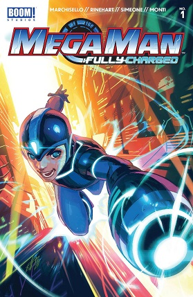 Mega Man Fully Charged #1 cover