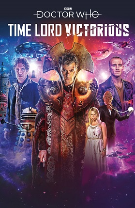 Doctor Who Time Lord Victorious #1 cover