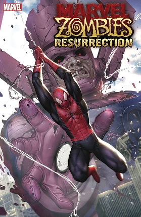 Marvel Zombies Resurrection #1 cover