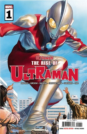 Rise of Ultraman #1 cover