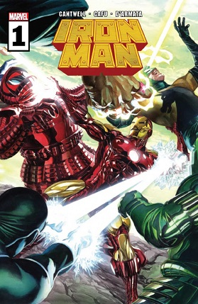 Iron Man #1 cover