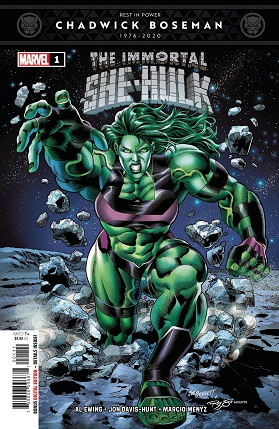 Immortal She-Hulk #1 cover