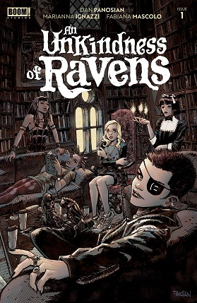Unkindness of Ravens #1 cover