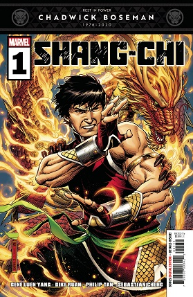 Shang-Chi #1 cover