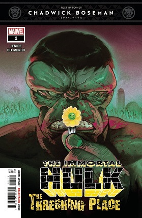 Immortal Hulk Threshing Place #1 cover