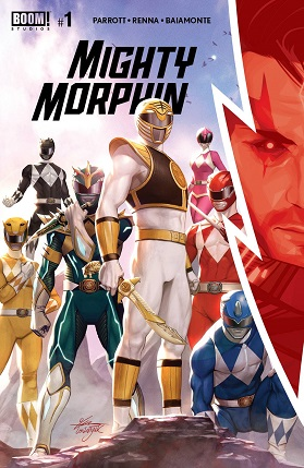 Mighty Morphin #1 cover