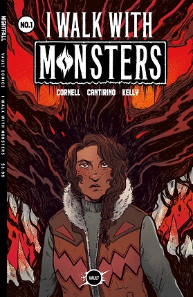 I Walk With Monsters #1 cover