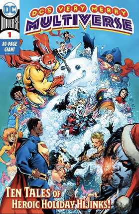 DC's Very Merry Multiverse #1 cover