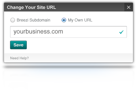 use your own domain