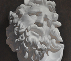 Cast Painting - Laocoön Head