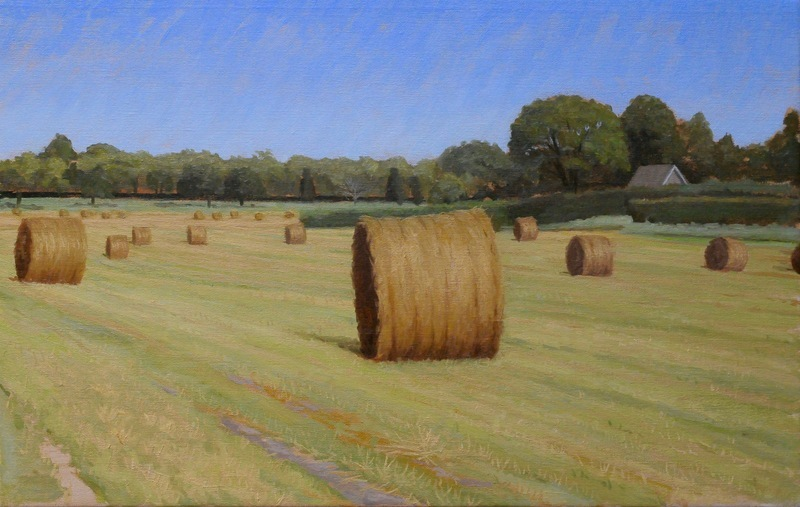 Hay Bales - Halsey Neck Lane