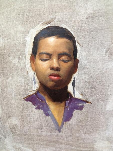 Portrait Sketch (Jamila)