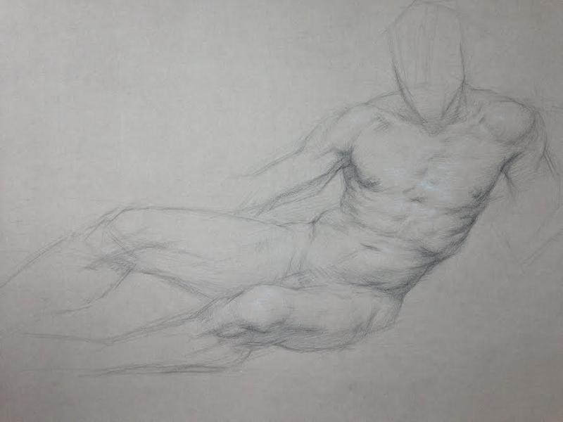 Reclining Figure Study