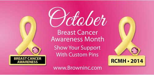 Breast Cancer Awareness Lapel Pin