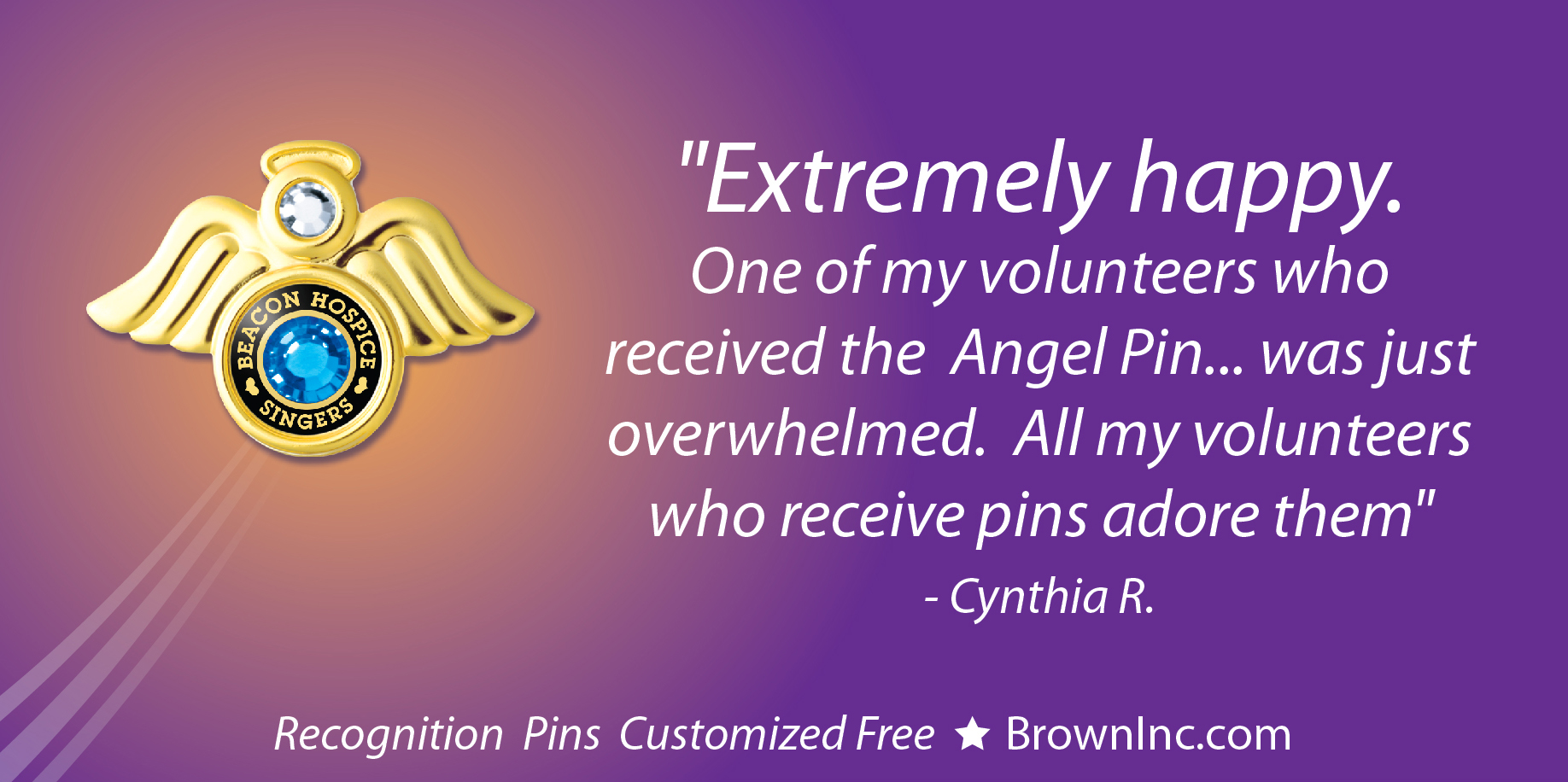 Custom Angel Pin