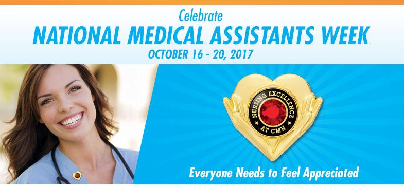 ... National Medical Assistants Recognition Week - October 20-24