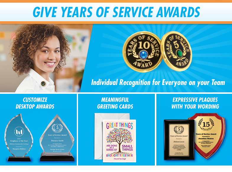 Give Years of Service Awards