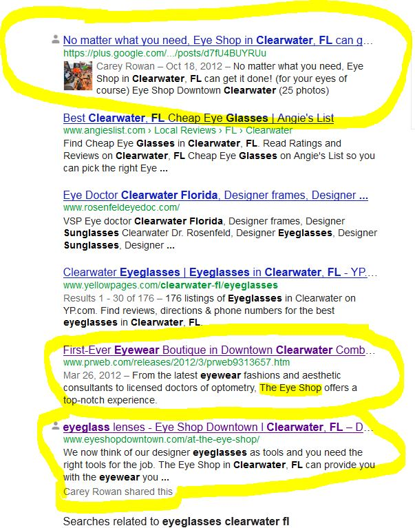 keyword-2-glasses-clearwater-fl-