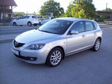 Mazda 3 1.6 CD 2006g  CLIMATRONIC–ALU  167 Tkm SERVISNA  *WEBASTO*