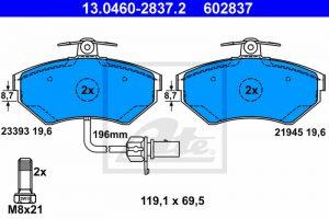 ATE Disk pločice Audi, Seat, VW 1.9 TDI – 13.0460-2837.2