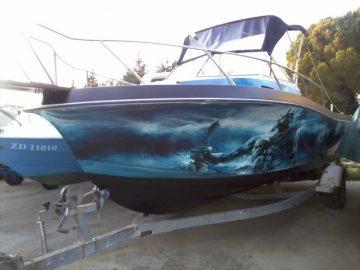 CHRIS CRAFT SEA HAWK 254 WA – custom made – ZADAR NAUTICA