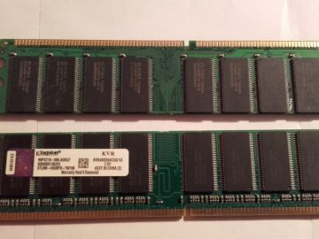 2gb 1gb DDR 400 PC3200 memorija za kompjuter, novo