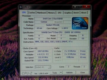 Intel Core 2 Duo E6850 Conroe 3.0GHz LGA 775 65W Dual-Core Processor