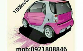 Rent a SMART 100kn/dan (RENT A CAR BEZ POLOGA)