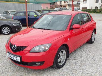 Mazda 3 Sport CD90 CE ALU KLIMA REG. 3/2019 2007. 4500€