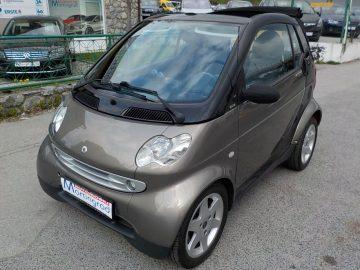 Smart fortwo cabrio klima,reg.05/18,MODEL 2002 automatik**KARTICE**