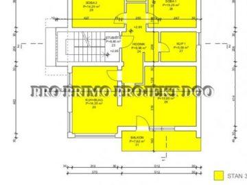 Vrhovec Črnomerec Zagreb prodaja stana 103 m2 PRILIKA novogradnja (prodaja)