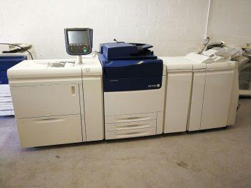 FS: Xerox Versant 80 stroj za tisak za kopiranje