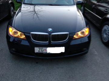 BMW serija 3 320D Automatik, dosta opreme, uloženo preko 3000€!
