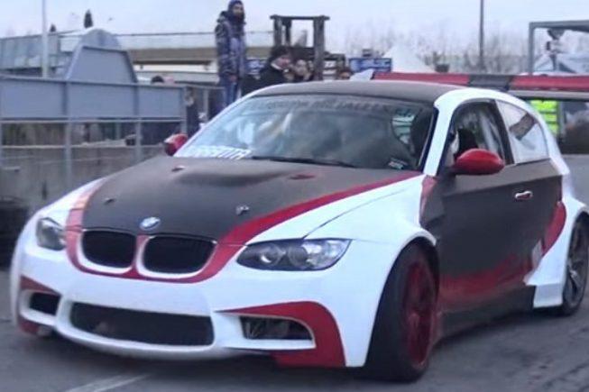 BMW Serije 1 pripremljen za drift ima 530 KS