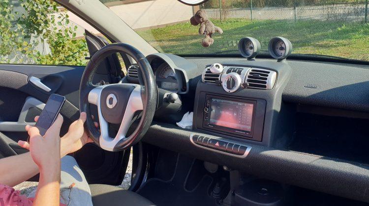 Smart Cabrio 1.0 Turbo Brabus spoileri kamera navigacija