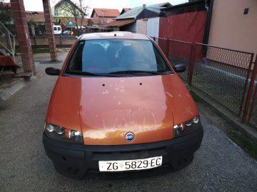 Fiat Punto 1,2 S, 2000 god, reg. 06/2019, 1050 eura