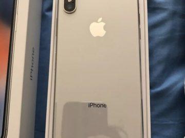 New Latest iPhone X,XS Max,XR,XS,8Plus,7Plus 1Yr Applecare Warranty In Box