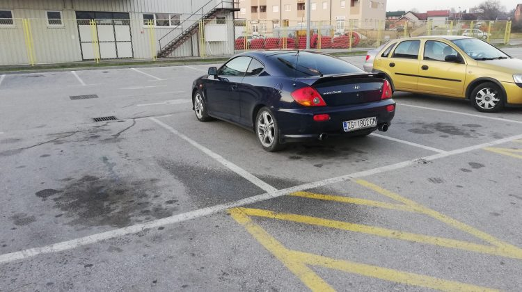 Hyundai Coupe Tiburon 2,7 v6