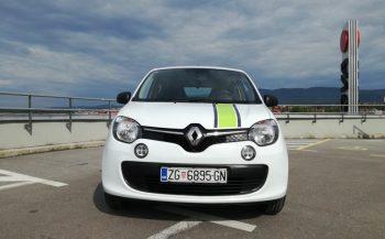 """Renault twingo – prošlogodišnji auto . Posebno naručena oprema """"TACO"""""""