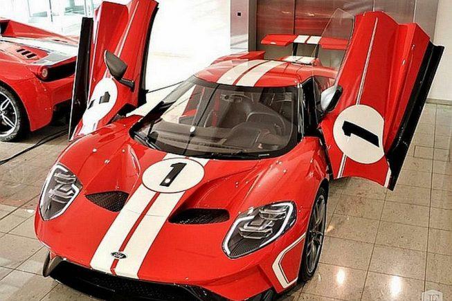 Rabljeni Ford GT prodaje se u Njemačkoj za 1,2 milijuna eura