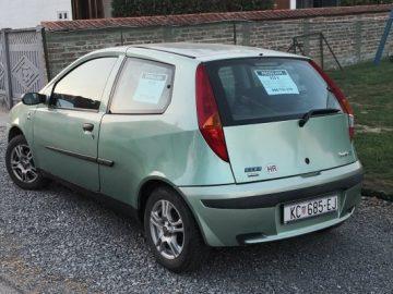 Fiat Punto 1,2 SX – registriran!!