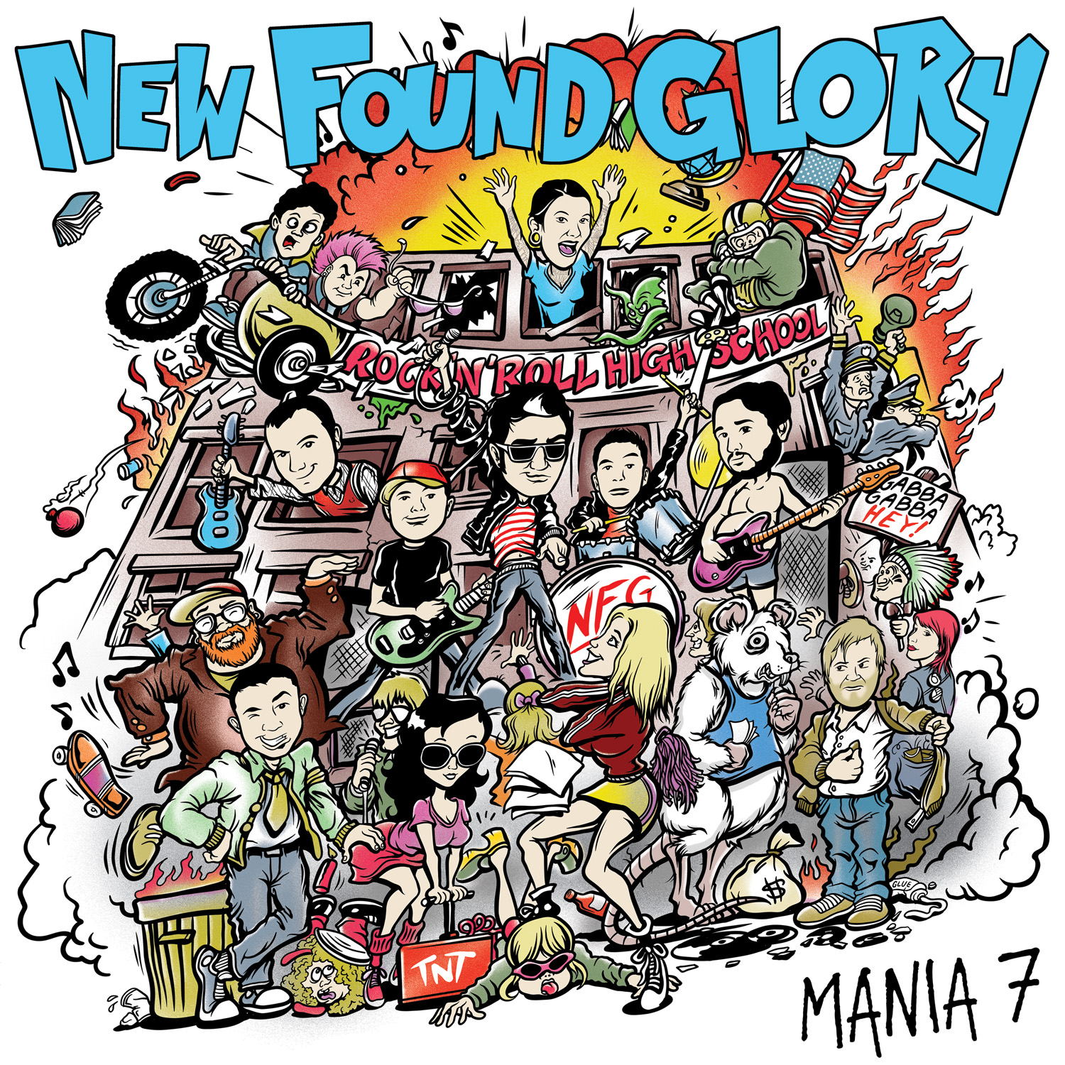 New Found Glory - 'Mania' 12-inch - Record Store Day 2013 | Alternative Press