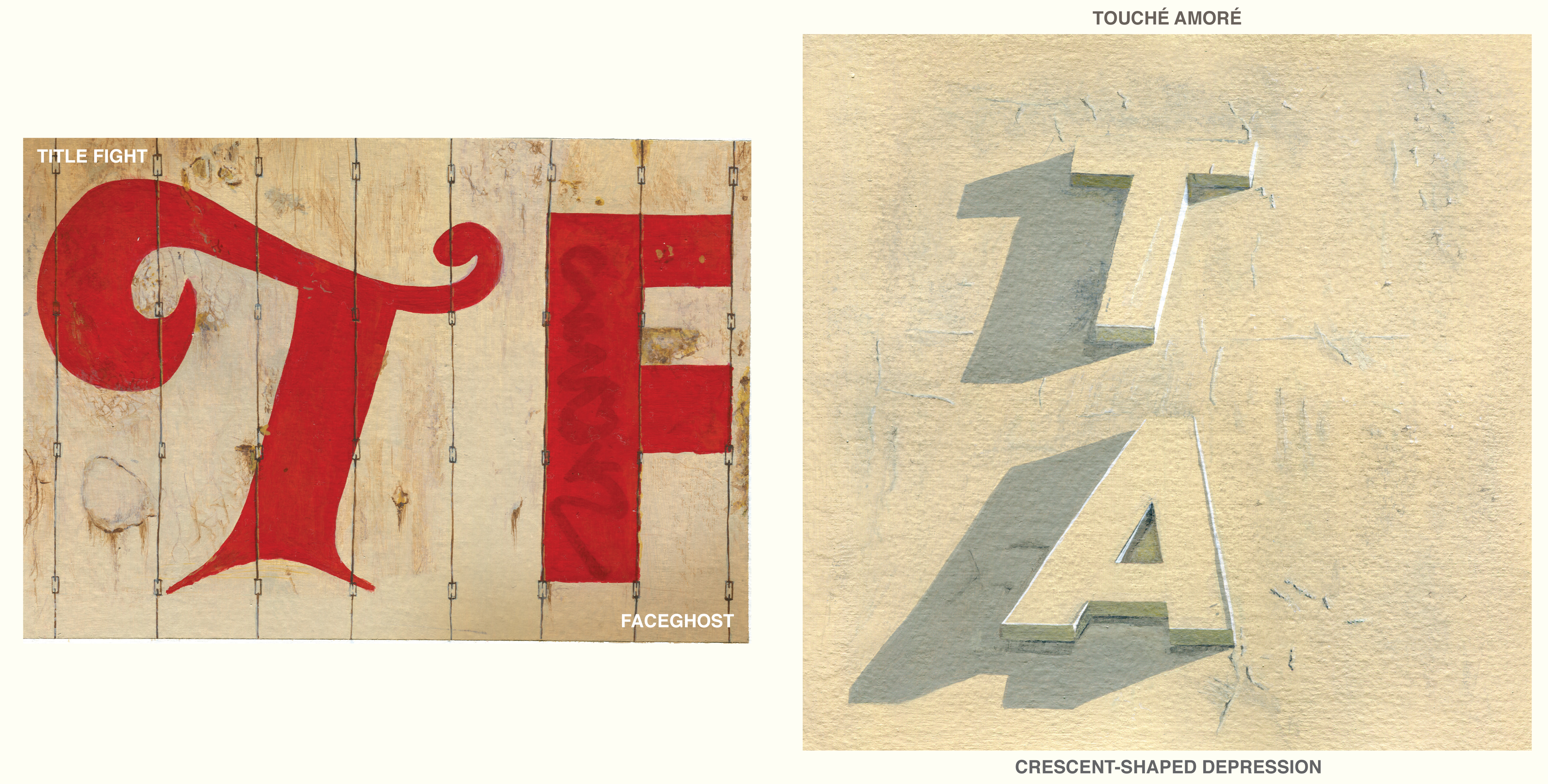 Touché Amoré/Title Fight split 7-inch - Record Store Day 2013 | Alternative Press