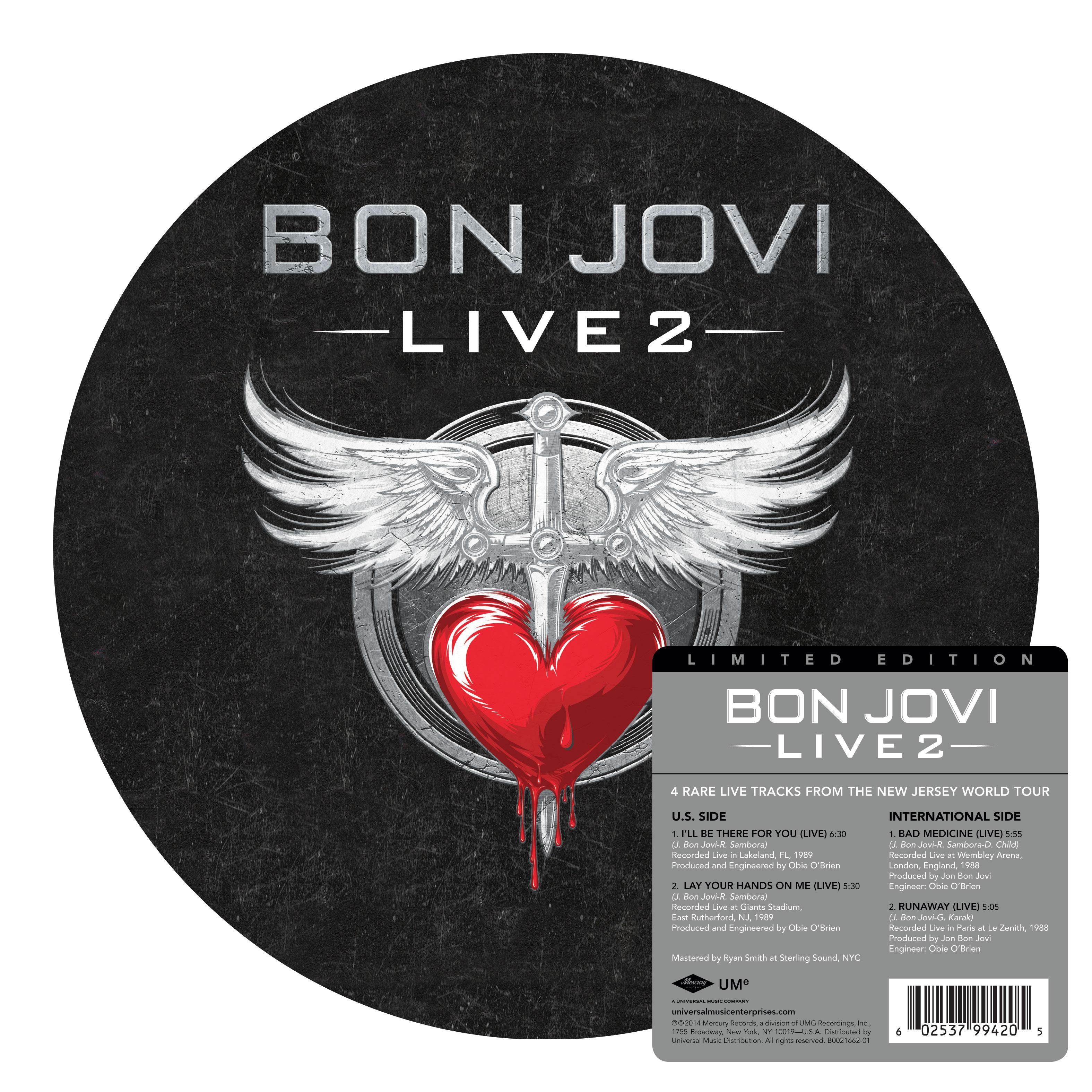 Bon Jovi Record Store Day