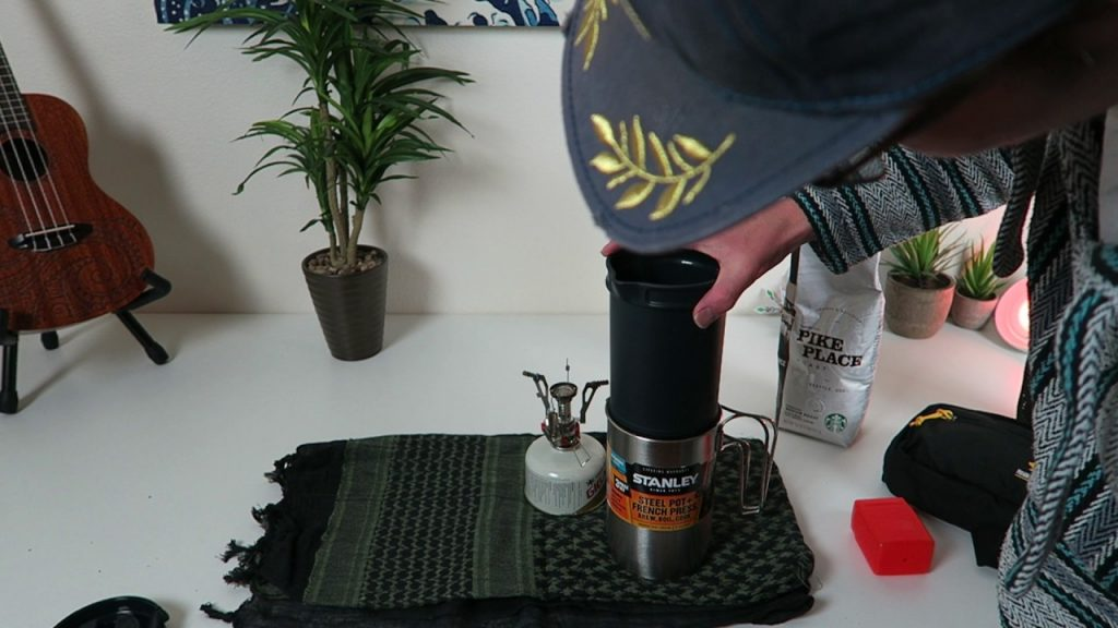 Quick Solution For Coffee While Camping or Hiking **Stanley French Press** (Outdoors Tech)
