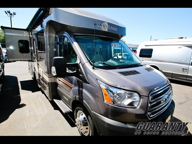 2017 Winnebago Fuse 23 T Class B+ Diesel Motorhome Video Tour • Guaranty.com